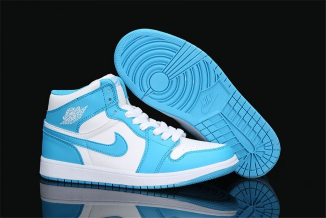 basket air jordan 1 femme bleu