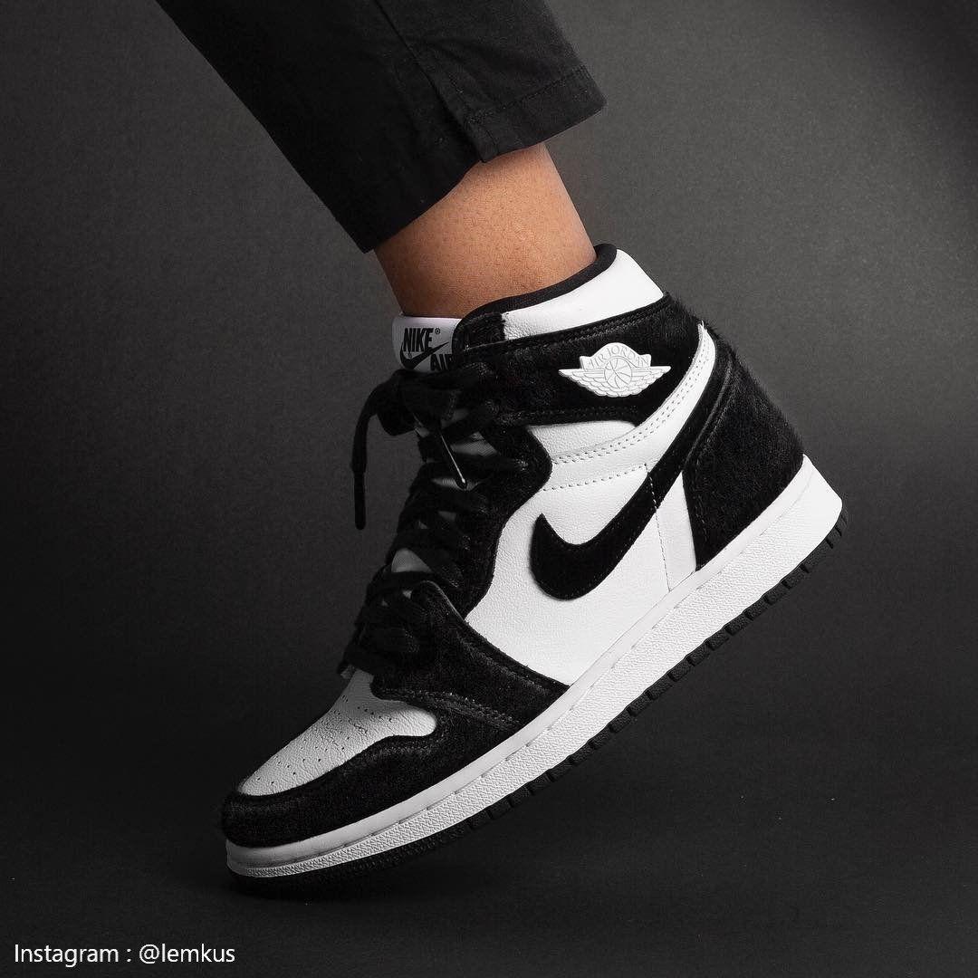 air jordan 1 noire et blanche