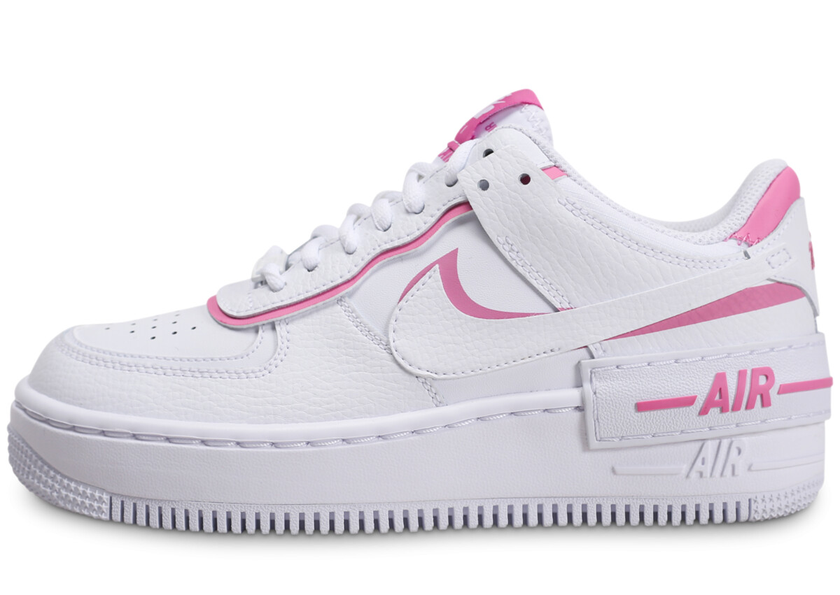 chaussure femme nike air force 1 rose